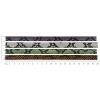 Faux Snake Leather 10x2mm 4Pcs (20cm Each) Multi